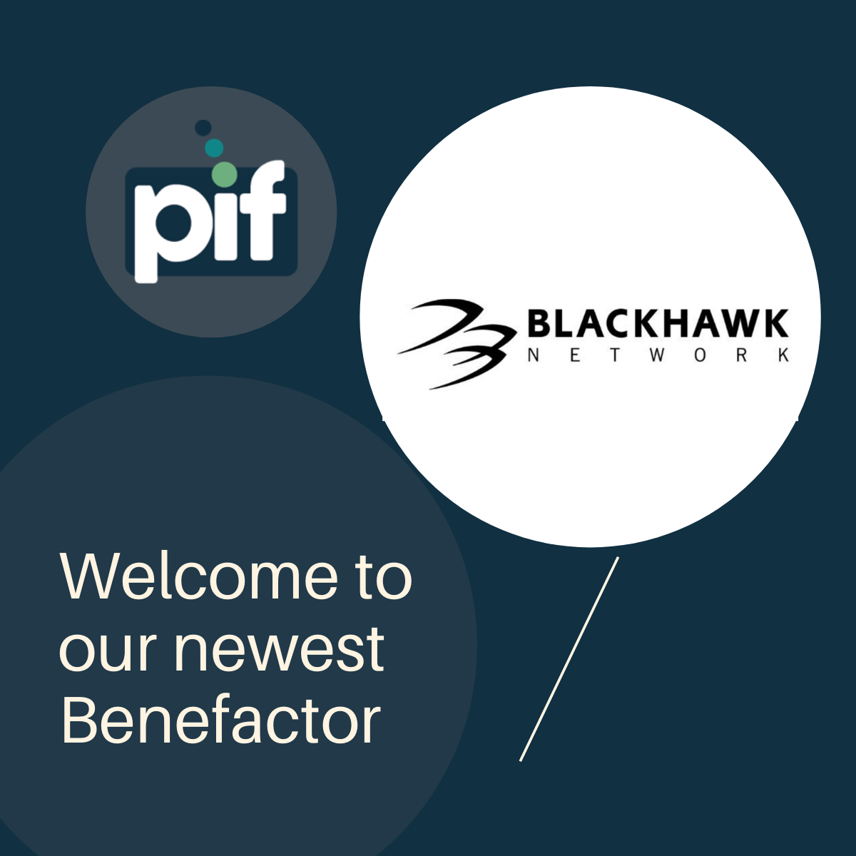 Branded payments provider Blackhawk Network becomes a PIF Benefactor